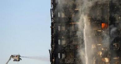 سقوط قتلى وجرحى في حريق هائل ببرج سكني في لندن