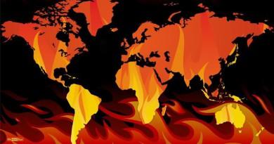 إنفوجرافيك.. صيف لاهب والحرائق شرقا وغربا