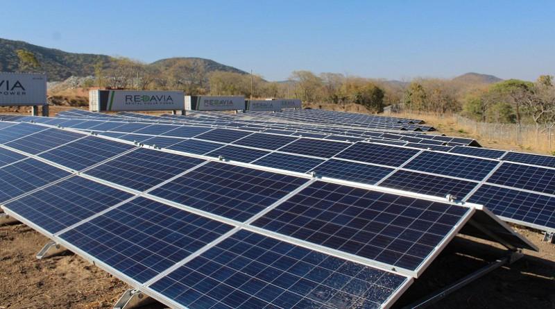 REDAVIA a mis en service la plus grosse ferme solaire de Tanzanie pour Shanta Gold
