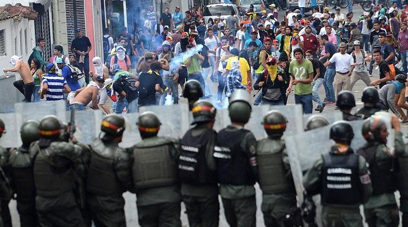 """الاتحاد الأوروبي يندد """"بالاستخدام المفرط للقوة"""" ضد المحتجين في فنزويلاالاتحاد الأوروبي يندد """"بالاستخدام المفرط للقوة"""" ضد المحتجين في فنزويلا"""