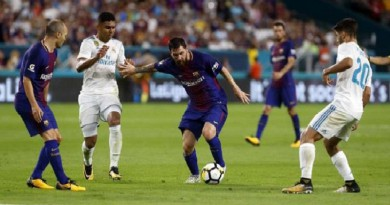 برشلونة يكرر انتصاره الأخير على ريال مدريد