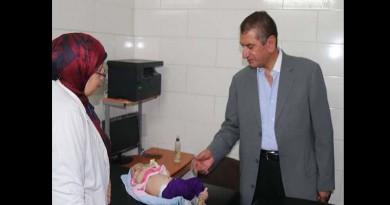 بالصور... محافظ كفرالشيخ يحيل 81 طبيبًا للتحقيق أثناء زيارة مفاجئة بالمستشفى العام