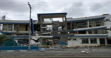 زلزال يضرب ساحل الإكوادور
