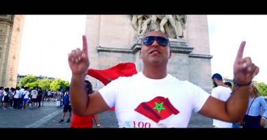 """روح المواطنة حاضرة في عمل الفنان مومن المباركي """"احنا كاع المغاربة"""""""