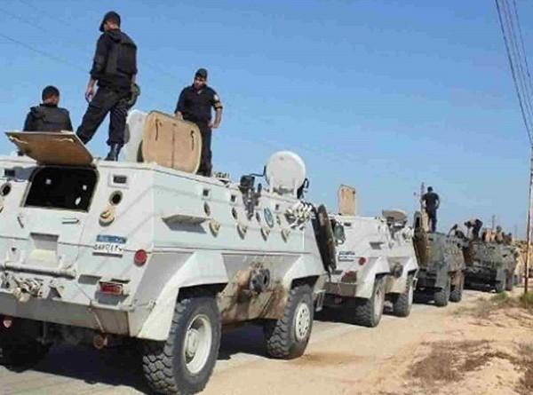 استشهاد 4 جنود مصريين في هجومين بالعريش