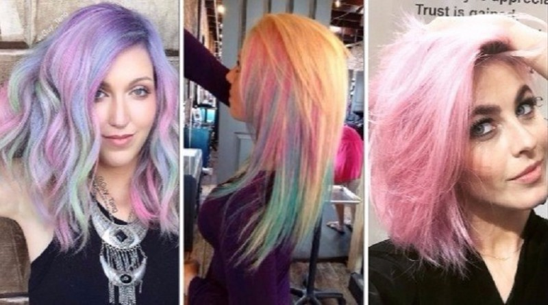 ألوان قوس قزح تزين شعرك هذا الصيف