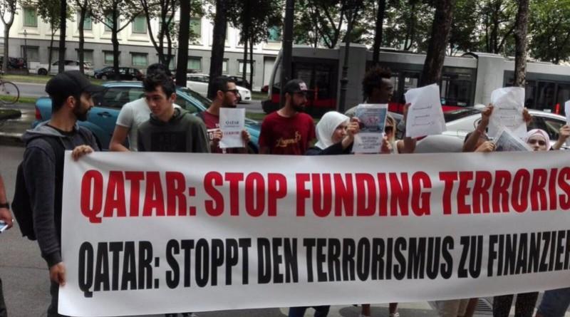 حملة مناهضة تمويل قطر للإرهاب تجوب شوارع أوروبا