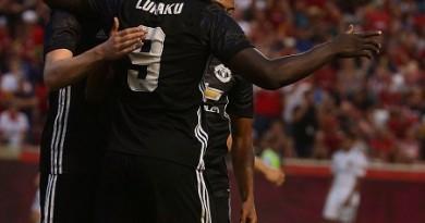 بالصور: لوكاكو نحن نلعب في مانشستر يونايتد من أجل الفوز