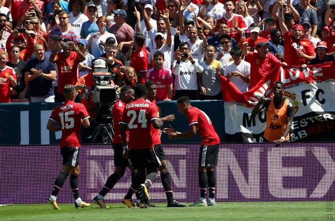 قبل مباراة السوبر الأوروبي.. مانشستر يونايتد يفوز على ريال مدريد في الكأس الدولية للأبطال