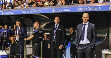 ريال مدريد وديبورتيفو لاكورونا