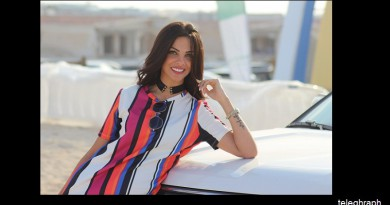 تكريم ملك حسن ملكة جمال مصر 2015 في احتفالية جروب فورد بالساحل الشمالي