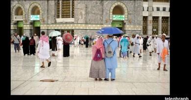 الأمطار تغمر مكة قبيل الحج