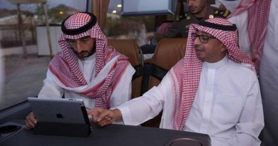 الأمير عبدالله بن بندر بن عبدالعزيز يتفقد المشاعر المقدسة ويقف على جاهزية قطار المشاعر