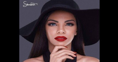 ملكة جمال مصر ( ملك حسن ) الوجه الدعائي لحفل جروب فورد للسيارات