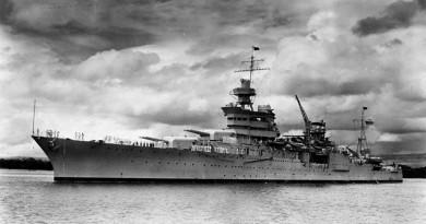 العثور على حطام سفينة أمريكية في أعماق المحيط الهادي