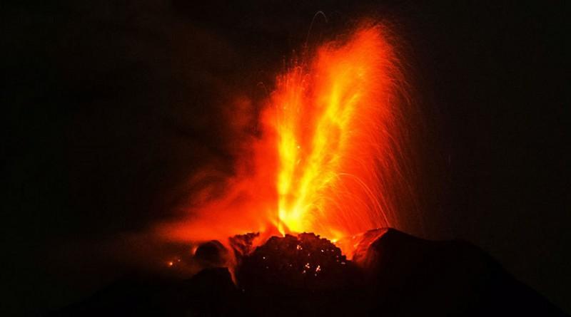 اكتشاف أكبر منطقة بركانية في العالم