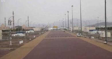 أطول طريق للمشاة بالعالم في مكة المكرمة بطول 25 كيلومترًا