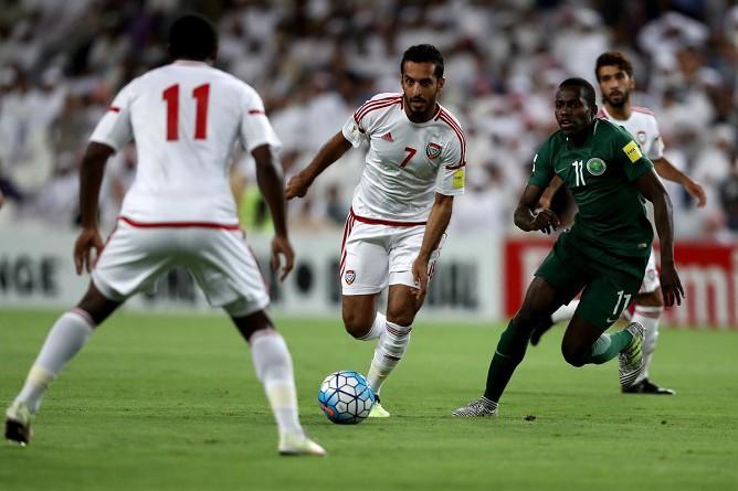 الإمارات تحيي آمالها في تصفيات المونديال بالفوز على السعودية