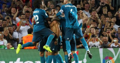 بالصور: ثلاثية ريال مدريد تقربه من السوبر الإسباني على حساب برشلونة