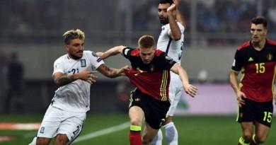 بلجيكا الى المونديال بعد فوز مثير على اليونان