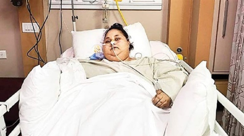 """وفاة إيمان عبد العاطي المعروفة بـ""""أسمن امرأة في العالم"""""""