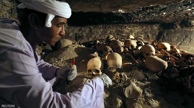 اكتشاف ضخم لمقبرة صانع مجوهرات فرعوني