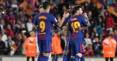 """بعد ثلاث جولات من بداية """"الليجا"""".. برشلونة يحقق رقمًا تاريخًا"""