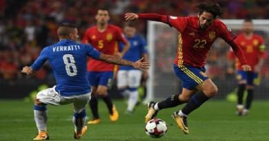 إسبانيا تكتسح ايطاليا وتضع قدماً في المونديال