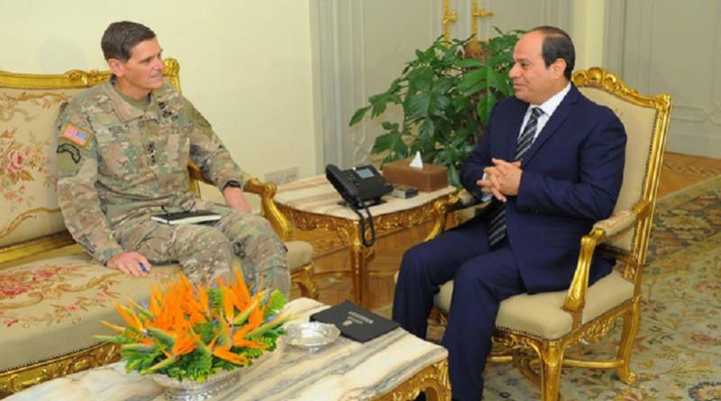 القيادة المركزية الأمريكية: نلتزم بتطوير الشراكة مع مصر