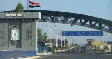 """صحيفة: فتح معبر """"نصيب"""" معلق وسط حشود عسكرية"""