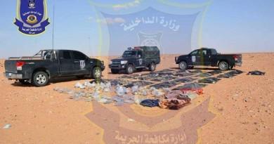 رفات 21 مصريا قتلهم داعش تصل إلى مصراتة