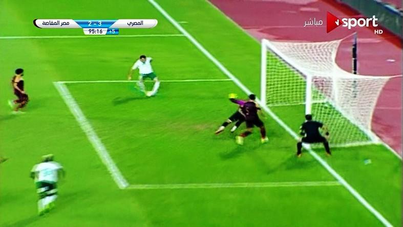 المصري يحقق فوزًا قاتلًا على مصر المقاصة