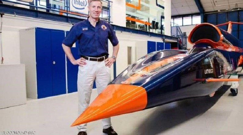 """بريطانيا تختبر سيارة """"فضائية"""" بمحرك صاروخي"""