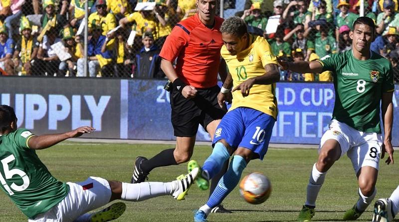 نيمار: مباراة بوليفيا لا إنسانية