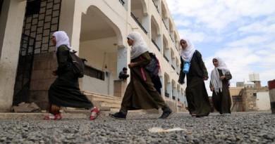 اليونيسيف: 31% من فتيات اليمن خارج نطاق التعليم