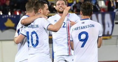 90 دقيقة تفصل أيسلندا عن صناعة التاريخ