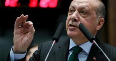 """أردوغان يتهم إسرائيل بانها """"دولة احتلال"""" تلجأ إلى """"الترهيب"""""""