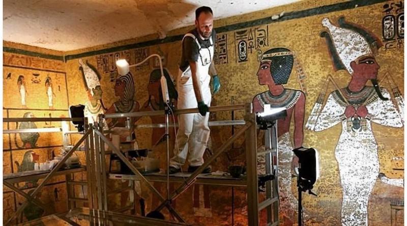 مصر تعلن اكتشاف مقبرتين أثريتين بمحافظة الأقصر
