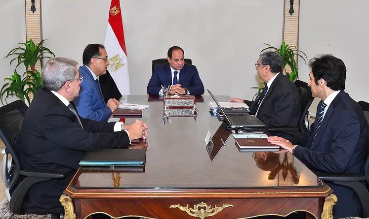الرئاسة: السيسي يوجه بسرعة بدء الخطوات التنفيذية لمحطة الضبعة النووية