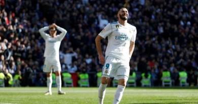 ريال مدريد يفتقد لخدمات كريم بنزيما