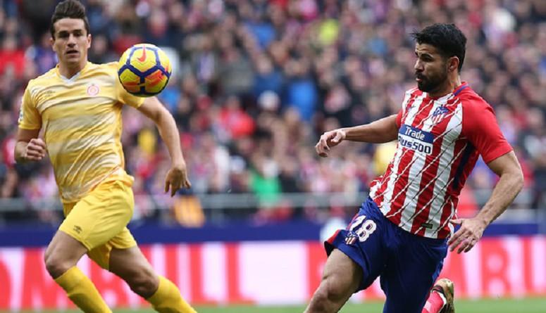 أتلتيكو مدريد يفحص كوستا استعدادًا لموقعة إشبيلية