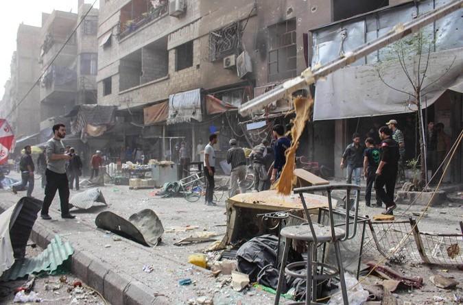 ارتفاع حصيلة القتلى جراء القصف على الغوطة الشرقية إلى 28 مدنيا