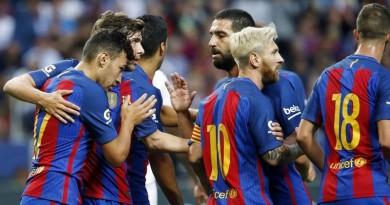 اهداف برشلونة وديبورتيفو ألافيس