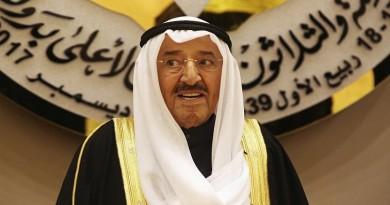 تفاصيل اجتماع أمير الكويت مع خليفة بن سلمان