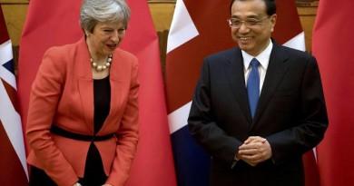 رئيس وزراء الصين: العلاقات مع بريطانيا لن تتغير بخروجها من الاتحاد الأوروبي