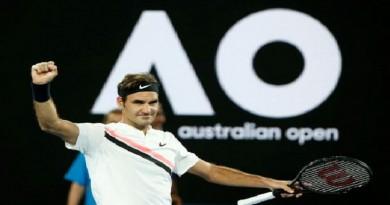 فيدرر يتقدم في أستراليا المفتوحة