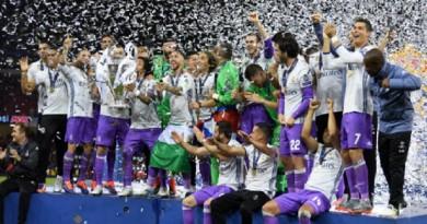 ريال مدريد أفضل نادٍ في العالم لعام 2017