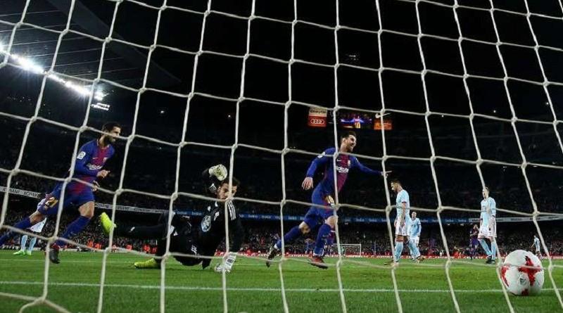 بالفيديو.. برشلونة يجهز على فيغو بخماسية في كأس إسبانيا