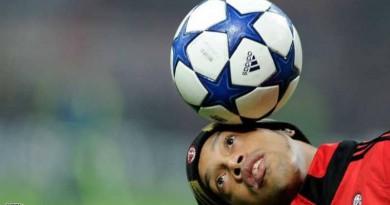 اعتزال اللاعب البرازيلي رونالدينيو