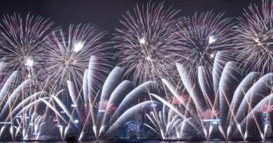 احتفالات حول العالم لاستقبال العام 2018
